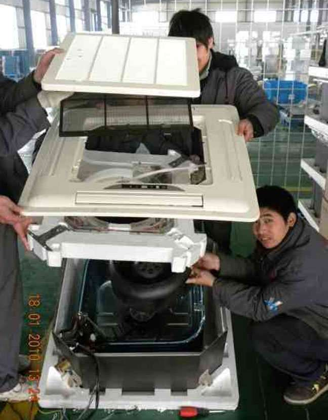 Cassette Type Fan Coil Unit Manufacturer Supplier China