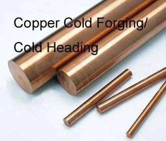 Copper cold forging parts,Cold heading Copper accessory