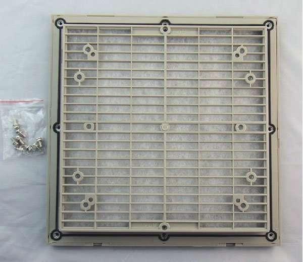 Louvre-filter net kit-back
