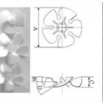 Plastic Blade of Motor Fan