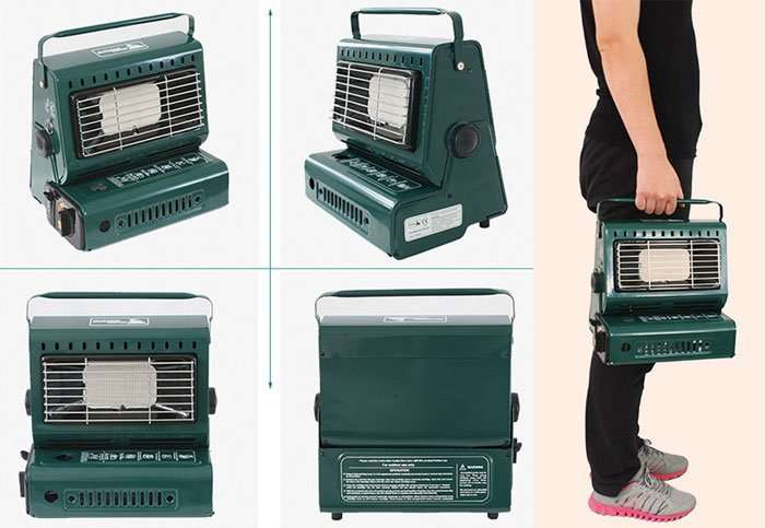 Portable Camping Gas Heater details