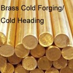 Brass cold forging parts,Cold heading Brass accessory 6