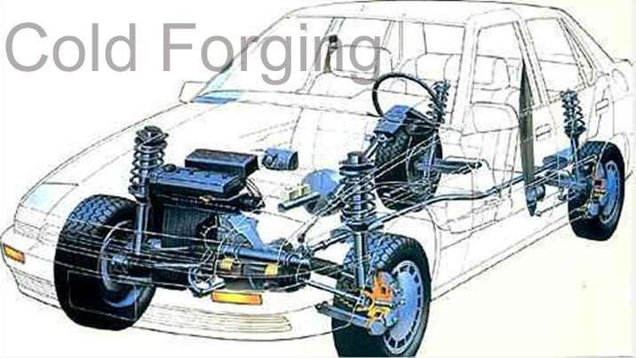Custom Forging Parts : Cold forged auto parts forging automative accessory