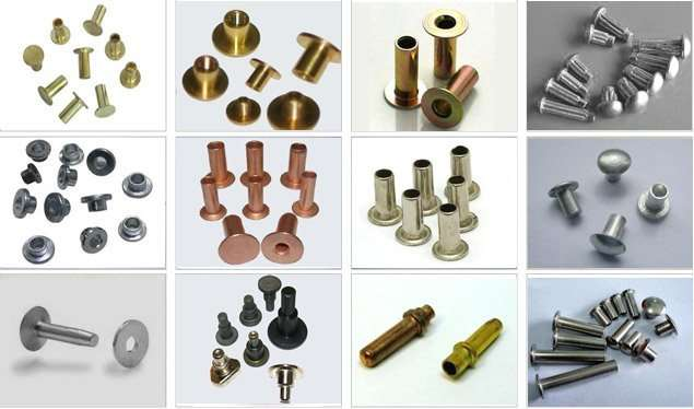 Custom cold forged rivets,fabricate heading rivets manufacturer China