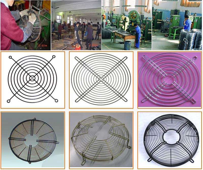 Fan Grill Cover production,Fan Metal Guard Cover equipments