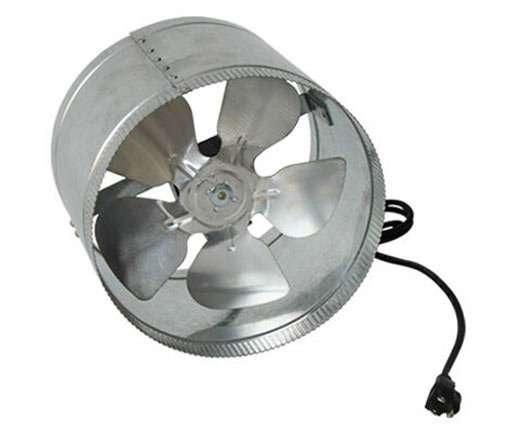 Axial Flow Hydroponics inline duct fan