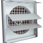 Self-movable louvre air outlet square plastic grille