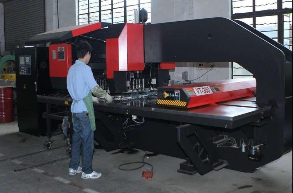 CNC punching stamping