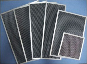 Electronic Air Cleaner Active Carbon Afterfilters