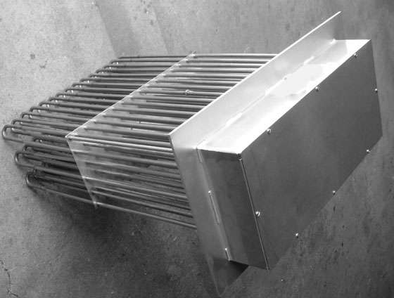 Immersion-Type duct air heater
