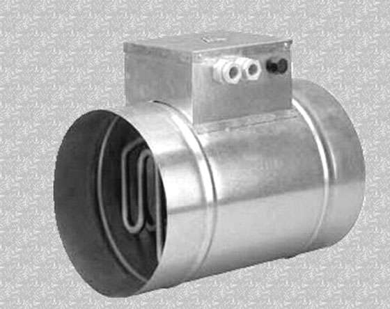 Round-Duct-Air-Heater