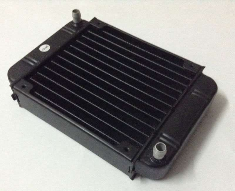 Single-pass cross-flow Water Cooling Radiator