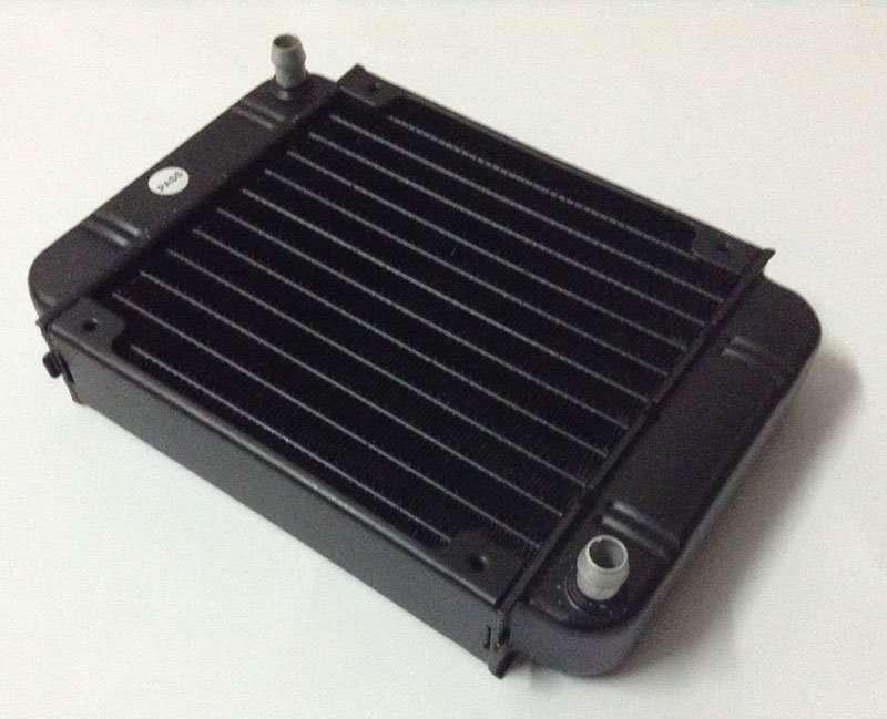 Single-pass cross-flow Water Cooling Radiator