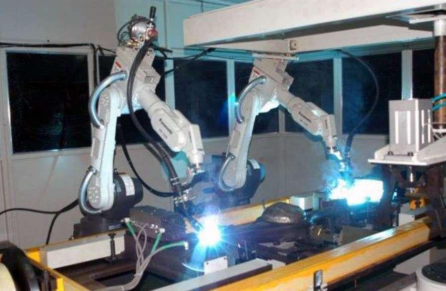 metal parts welding