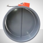 Circular Motorized Fire Damper