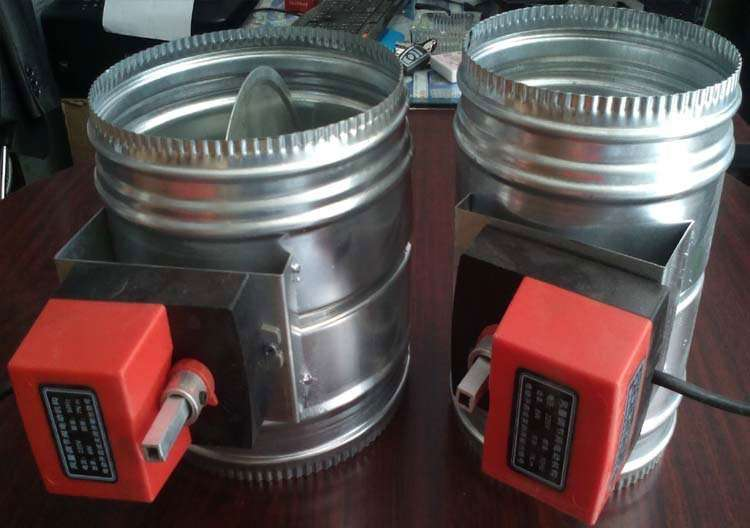 Circular Motorized Volume Control Damper