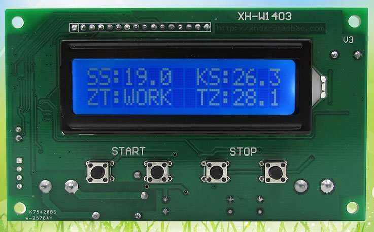 Digital Thermostat Module Model XH-W1403