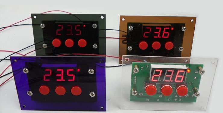Panel Board For Digital Thermostat Module Manufacturer