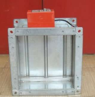 Duct Motorized Volume Control Damper