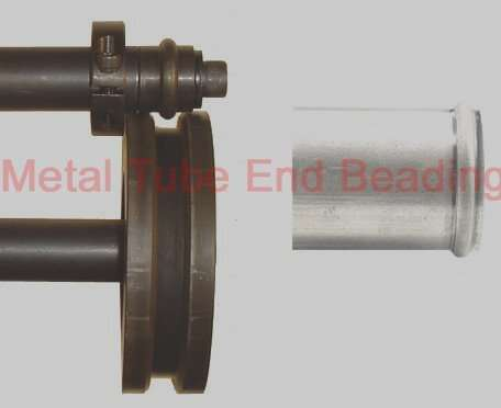 Metal-tube-end-beading