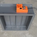 Rectangular Motorized Volume Control Damper