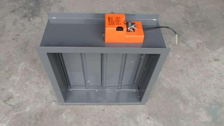 48V Modulating Damper