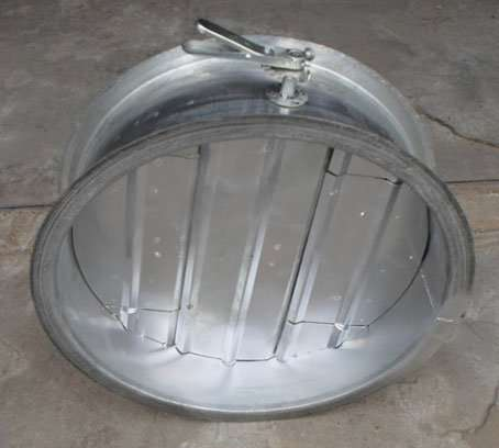 Round Volume Control Damper by Manual