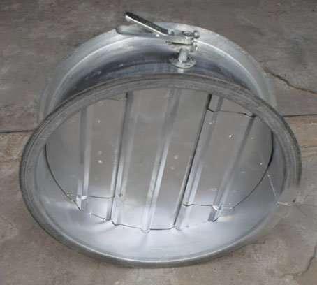 circular Volume Control Damper by Manual