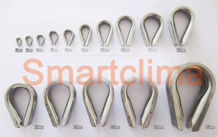 Stainless Steel Wire Rope Thimble manufacturer-supplier China