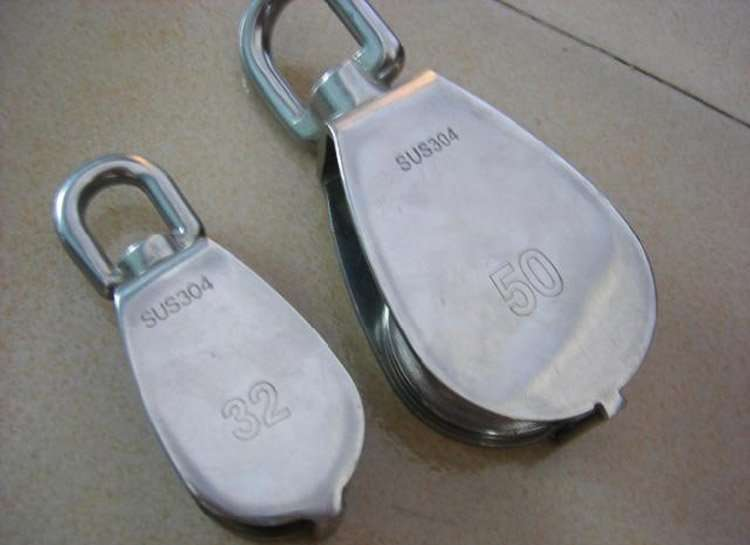 Stainless-Steel-Grade 304 Pulley-Block