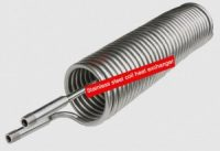 Stainless steel tube coil heat exchanger,low pressure drop,good heat exchanging