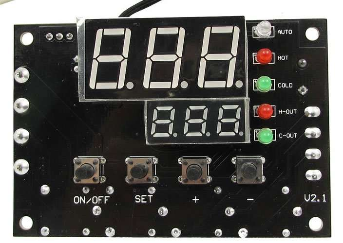ThermoElectric module thermostat
