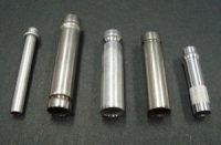 Metal tube end beading
