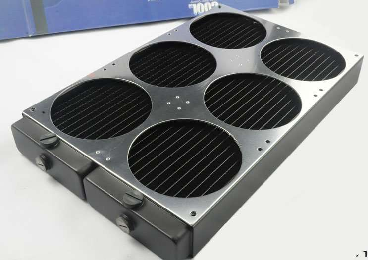 Water Cooling Radiator for installing 6pcs fan