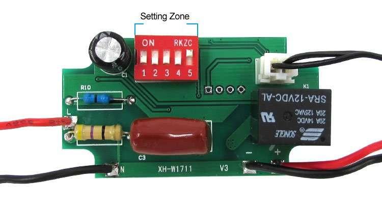 XH-W1711 setting-switch
