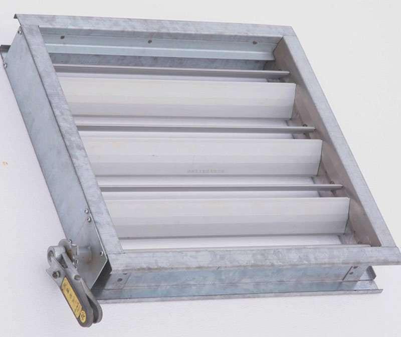 Volume Control Damper : Steel sheet volume control damper manufacturer supplier china
