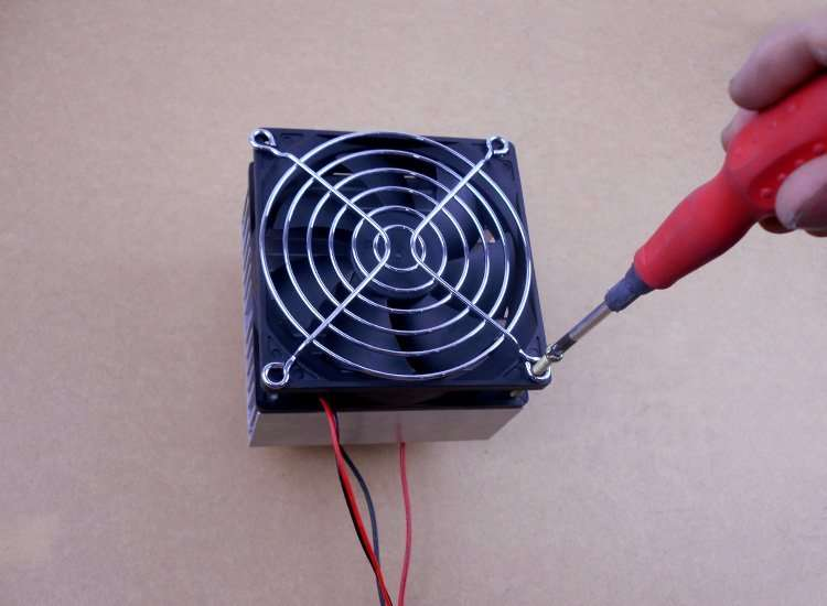 install ThermoElectric kit-12