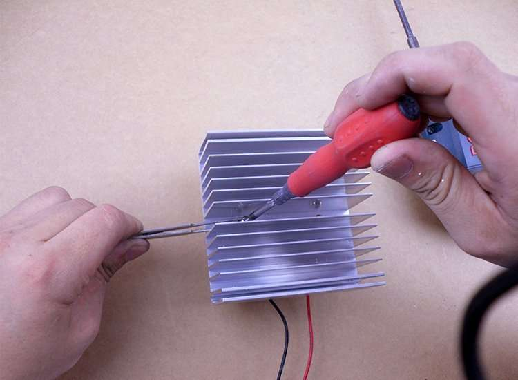 install ThermoElectric kit-8