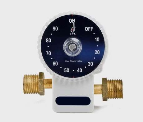 Automatic Gas Shut-Off Safety Timer Valve