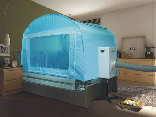 Bed-air-conditioner-with-tent & Bed-air-conditioner-with-tent - Smartclima
