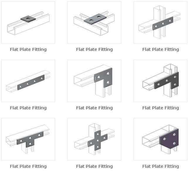 Flat Plate Connecting Fittings-1