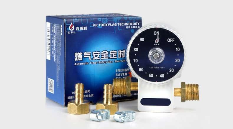 Gas Automatic  Shut-Off Safety Valve timer package