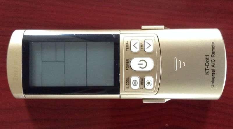 KT-Dot1-AC-remote-controller