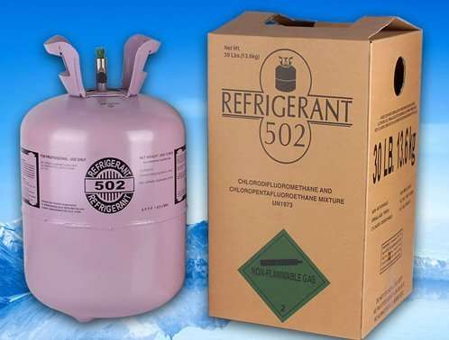 Refrigerant R502 Gas