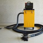 Rotary Brush With Dust Vacuum Extractor