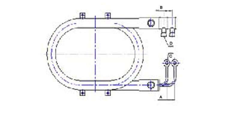 Sea water coaxial heat exchanger specification