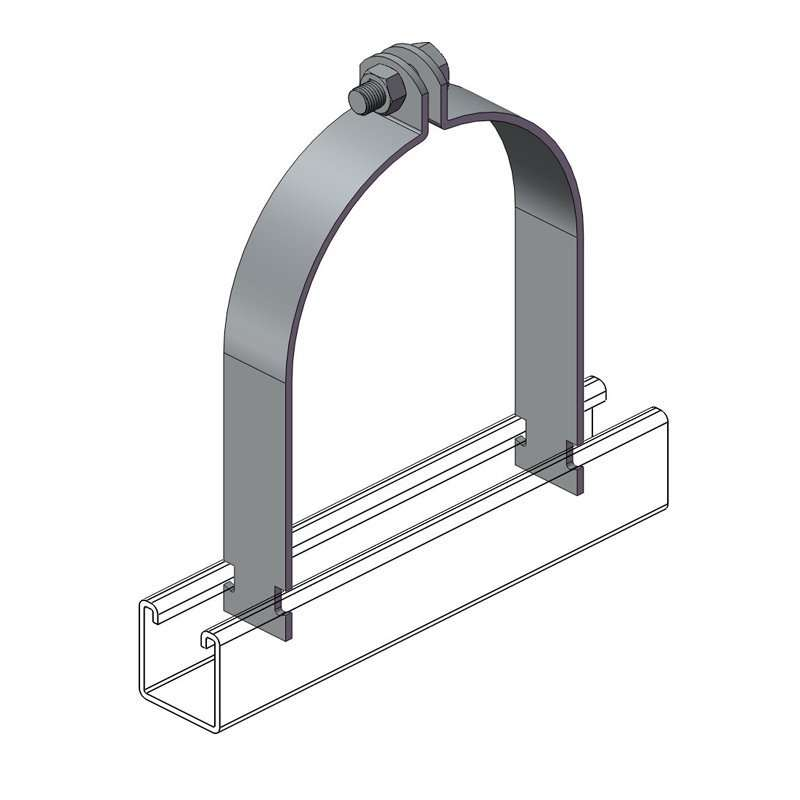 Unistrut Channel Pipe Clamp