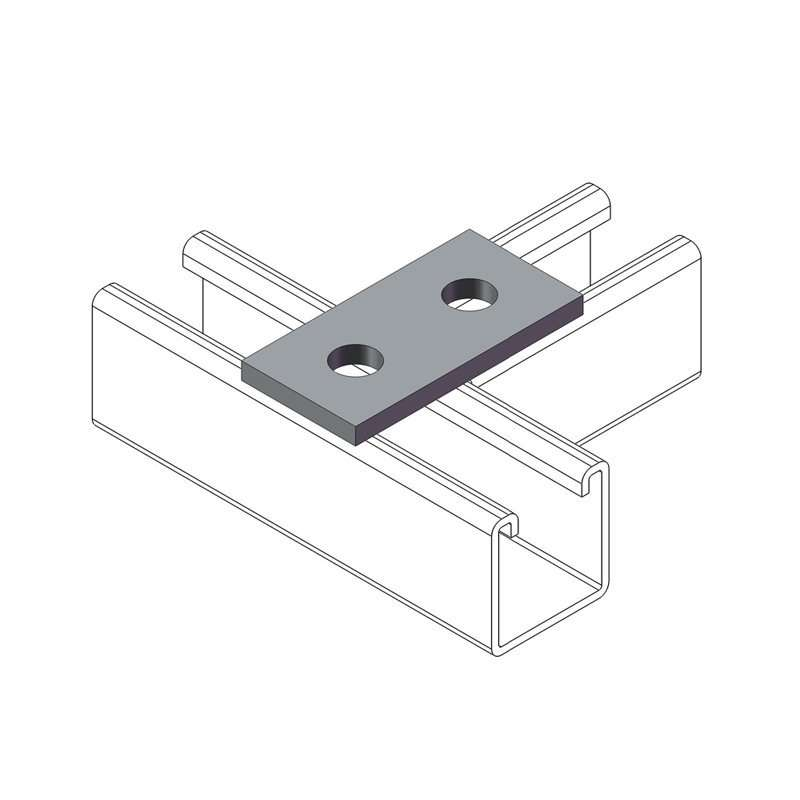 Unistrut Channel Flat Plate Connecting Bracket