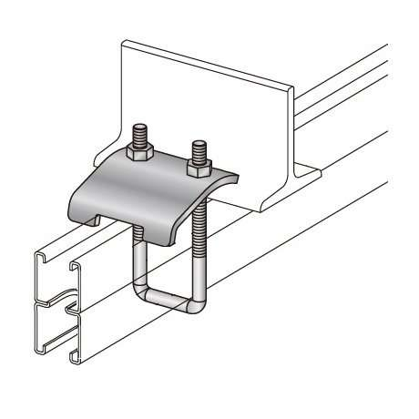 Unistrut Channel beam clamp