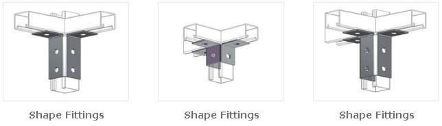 Unistrut Channel shape fittings-2